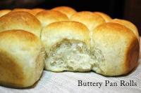 Buttery Pan Rolls 1