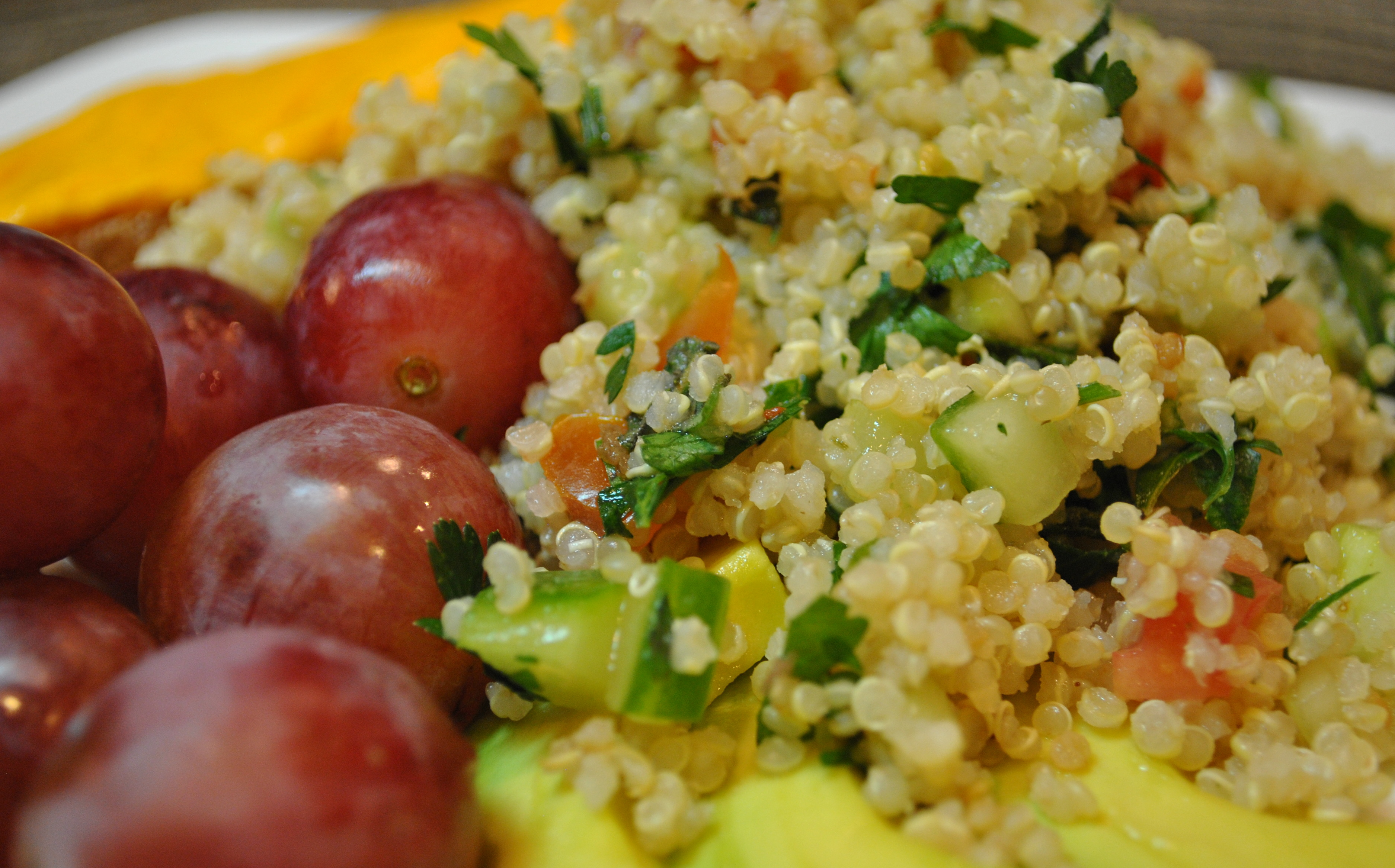 Simplest Quinoa Tabbouleh Salad | Vedged Out