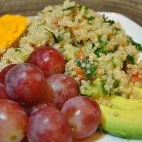 Quinoa Tabbouleh: https://vedgedout.com/2012/09/25/simplest-quinoa-tabbouleh-salad/