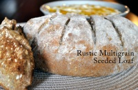Rustic Multigrain Seeded Loaf