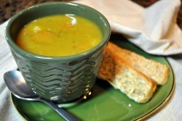 Smoky Vegan Split Pea Soup: https://vedgedout.com/2012/10/04/smoky-vegan-split-pea-soup/