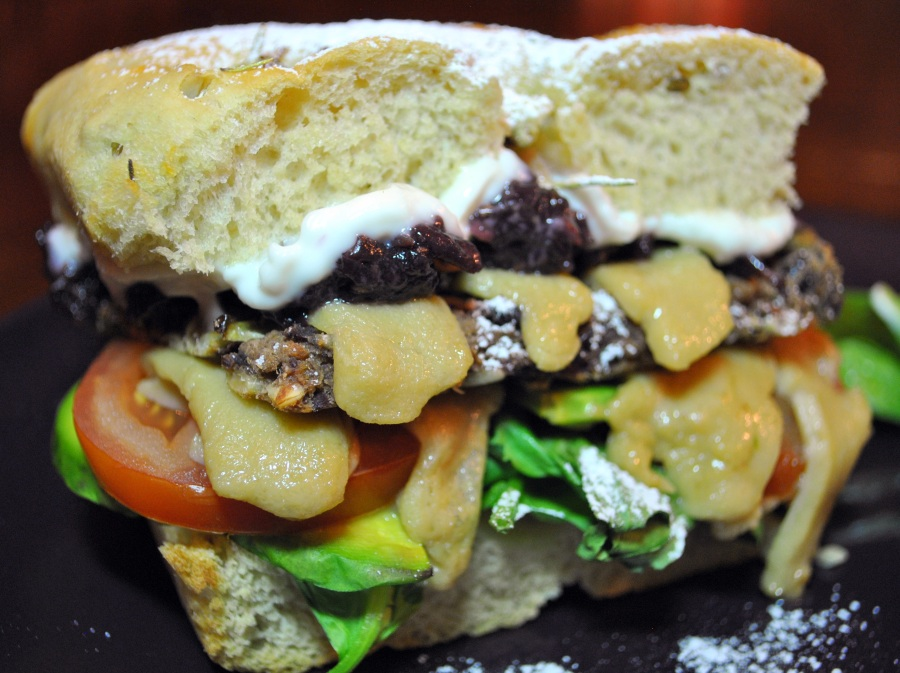 Vegan Monte Cristo Sandwich: http://vedgedout.com/2012/10/28/vegan-monte-cristo-sandwich-vegan-mofo-iron-chef-challenge/