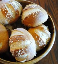 Pretzel Rolls: https://vedgedout.com/2012/10/02/whole-grain-pretzel-buns-or-rolls/