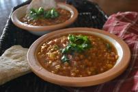 Moroccan Lentil Soup: https://vedgedout.com/2012/12/03/moroccan-lentil-soup/