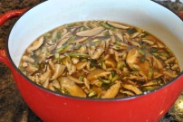 Vegan Hot and Sour Soup: https://vedgedout.com/2013/01/12/vedged-out-green-smoothie-day-6/