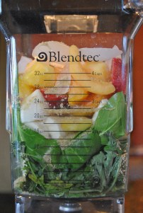 Traditional Green Smoothie: https://vedgedout.com/2013/01/07/vedged-out-2013-green-smoothie-challenge-day-1/