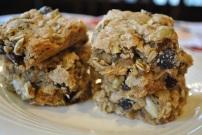 Pepita Oatmeal Raisin Cookie Bars: https://vedgedout.com/2013/02/13/pepita-oatmeal-raisin-cookie-bars/