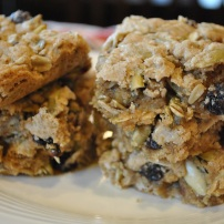 Pepita Oatmeal Raisin Cookie Bars: https://vedgedout.com/2013/02/13/pepita-oatmeal-raisin-cookie-bars/