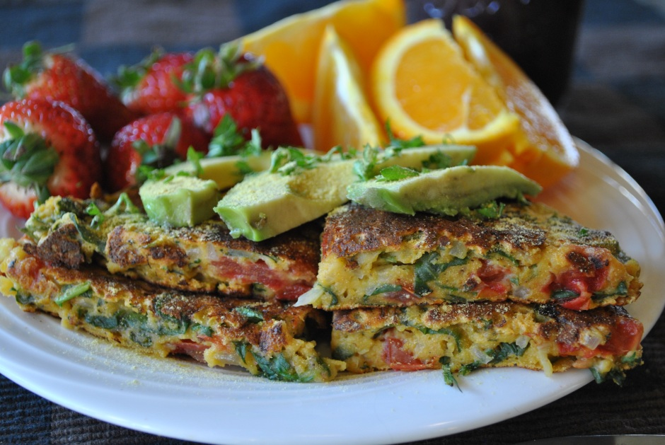 Kittee's Vegan Pudla: http://vedgedout.com/2013/03/21/vegan-pudla-omelet-thingy/