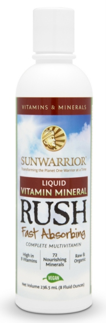 Sun Warrior Liquid Vitamin Mineral Rush