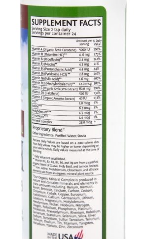 Sun Warrior Liquid Vitamin Mineral Rush2