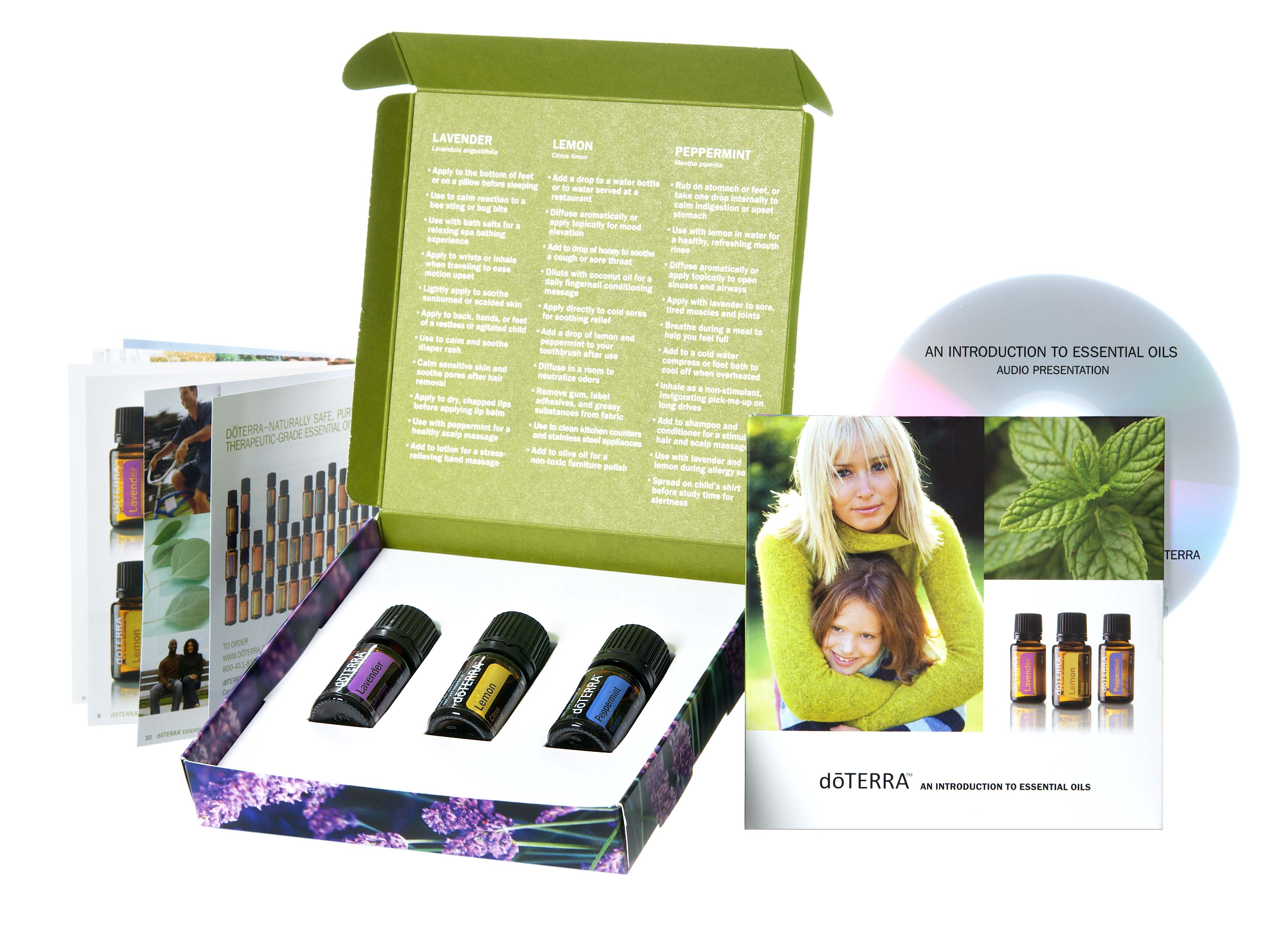 Doterra Essential Oil Giveaway! Lemon Lavender and Peppermint Intro ...