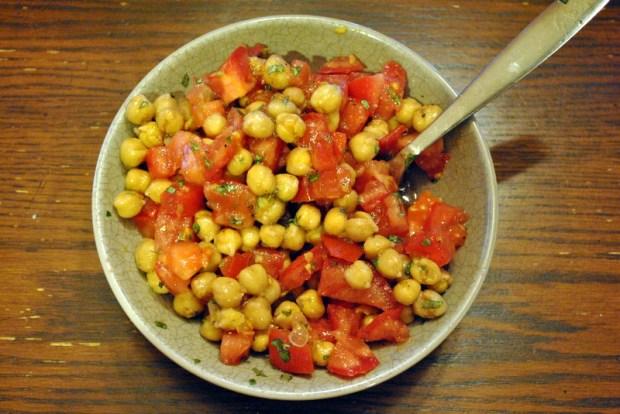 Simplest Chickpea Salad
