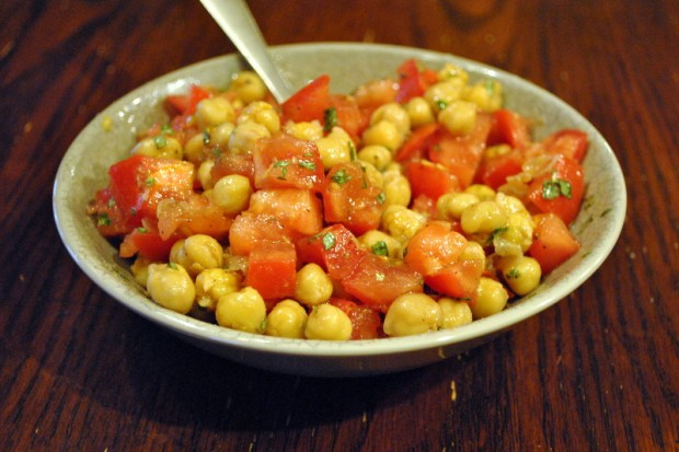 Simplest Chickpea Salad1