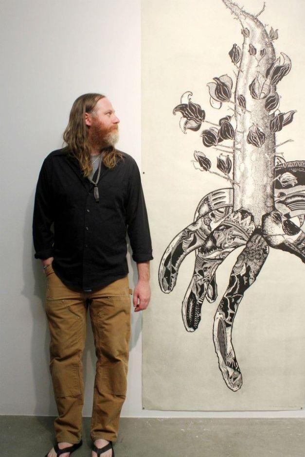 My Foot is a Desert MFA exhibition: http://vedgedout.com/2013/05/02/myfootisadesert/