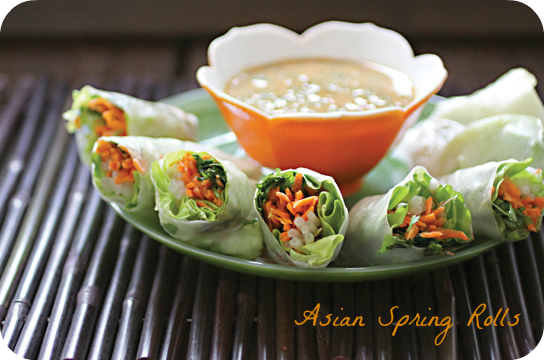 Asian Spring Rolls