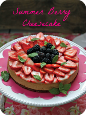 Summer Berry Cheesecake