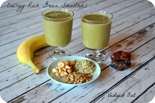 Energy Rich Green Smoothies