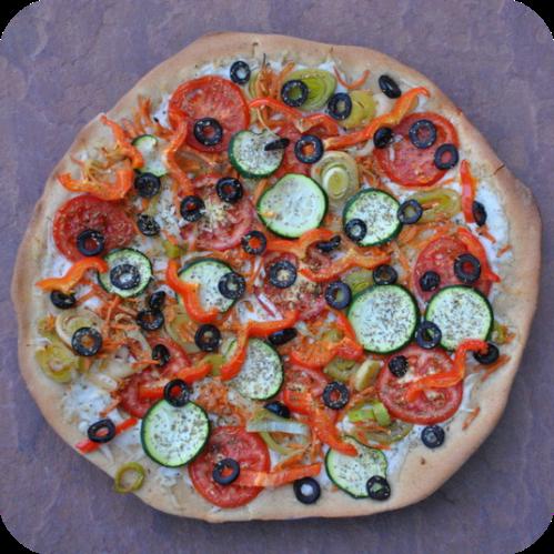 Garden Pizza 2