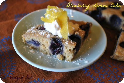 Blueberry Lemon Cake 2