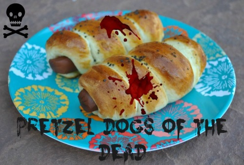 Pretzel Dogs of The Dead