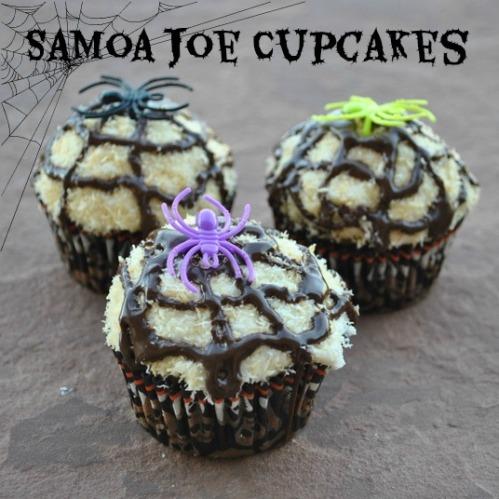 Samoa Joe Cupcakes