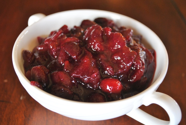 Maple Cranberry Sauce