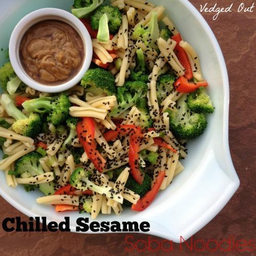 Chilled Sesame Soba Noodles