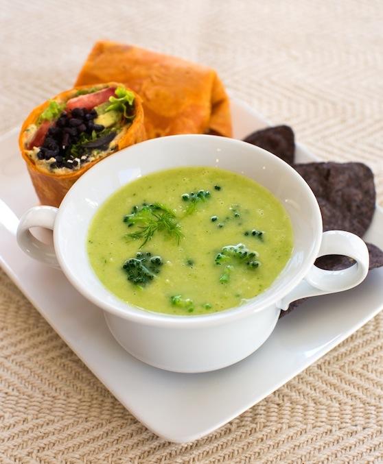 Broccoli-soup-w-wrap-