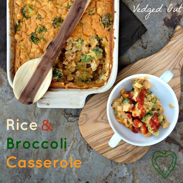 Rice & Broccoli Casserole
