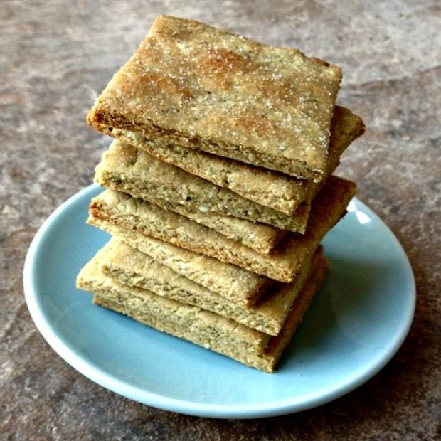 matcha shortbread
